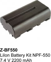 LiIon Battery Kit NPF-550