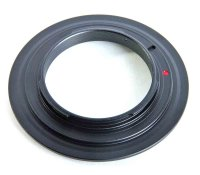 ZUMA Reverse Lens Adapter for Canon EOS Body to fit 72mm