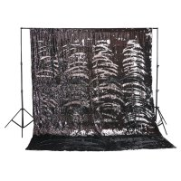 8x10 Shimmering Background (Black/Silver)