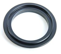 ZUMA Reverse Lens Adapter for Pentax K Body to fit 52mm