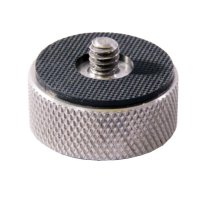 "Steel 3/8"" Female Thread & 1/4"" Male Thread Adapter"