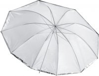 "36"" Silver/White Umbrella 10 Panels, Front Diffuser"