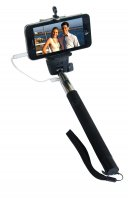 ZUMA Selfie Stick with Cable Release-Black