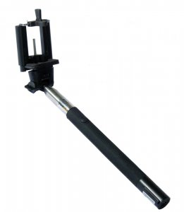ZUMA Selfie Stick w/Bluetooth-Black