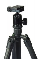 TERRA FIRMA Carbon Fiber 3 section Tripod with Ball Head BH300